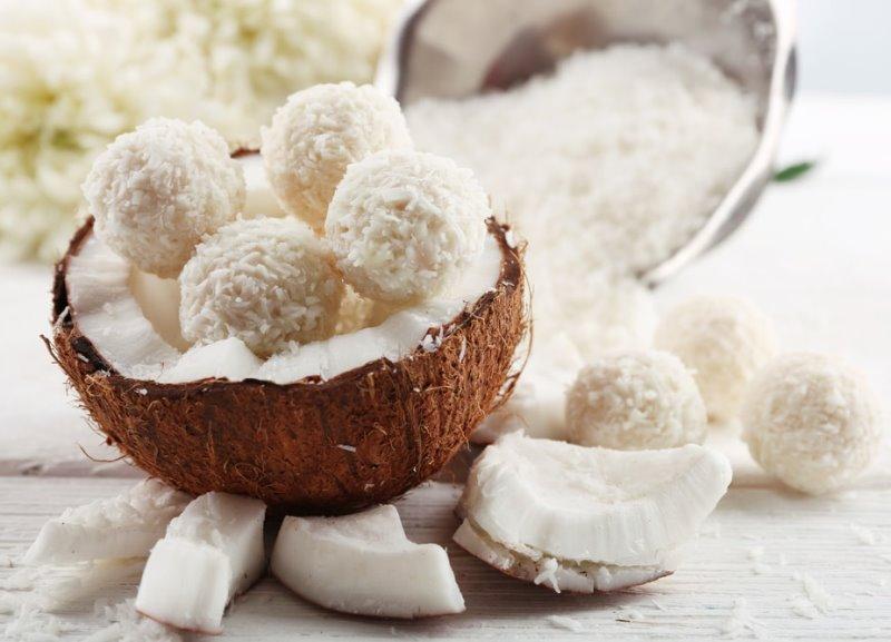 Кокосовые орехи очень питательны