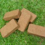 Кокосовые брикеты для рассады